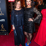 NLD/Utrecht/20170112 - Musical Awards Gala 2017, Xandra Brood en vriendin