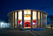 CAMPER pavilion designed by japanese architect, Shigeru Ban. Alicante, Spain. Volvo Ocean Race 2011-2012. 29/10/2011