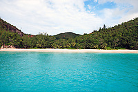bay of anse lazio praslin seychelles islands