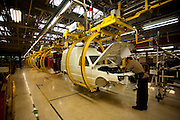 Betim_MG, Brasil...Linha de producao da FIAT em Betim, Minas Gerais. Na foto montagem do Fiorino...The production line FIAT in Betim, Minas Gerais. In this photo the car Fiorino...Foto: LEO DRUMOND / NITRO