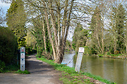 Maidenhead, United Kingdom. General View, GV. Entrance to the Thames Path along Cookham Reach.<br /> <br /> Friday  06/04/2018<br /> <br /> © Peter SPURRIER<br /> Leica Camera AG M9 Digital Camera. ISO 80    Lens 35mm f8.0 Voigtlander Nokton Classic