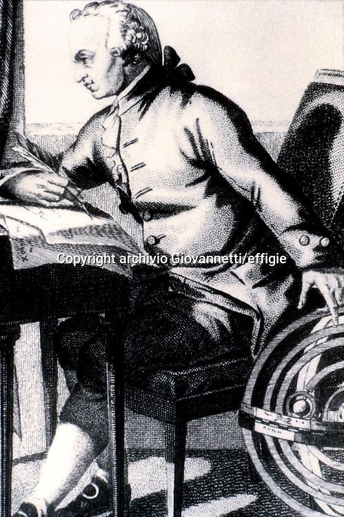 Immanuel Kant<br />archivio Giovannetti/effigie