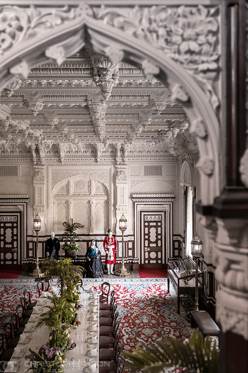 The Durbar Room at Osborne House.<br />