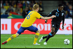 England's Danny Welbeck in action against Sweden in the Group D Sweden v England match, June 15, 2012, in Kiev during the UEFA Euro 2012. Photo by Imago/i-Images