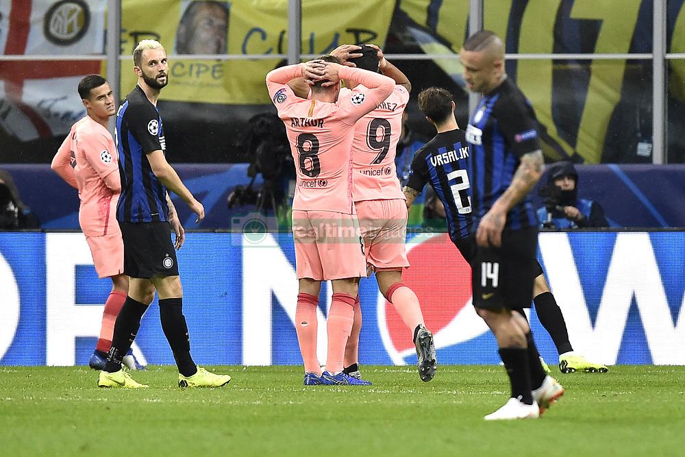 صور مباراة : إنتر ميلان - برشلونة 1-1 ( 06-11-2018 )  20181106-zaa-a181-397