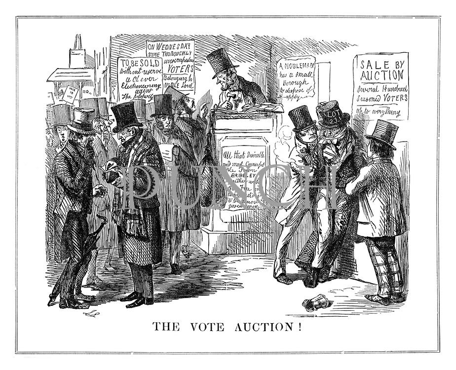 The Vote Auction!