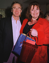 MR MARK STAVELEY and MISS KATE SISSONS, at a party in London on 21st December 1998.MNB 45