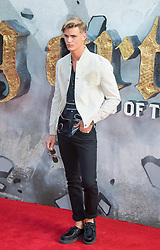 London, May 10th 2017. Sam Harwood attends the European premiere of King Arthur - Legend of the Sword at the Cineworld Empire in Leicester Square.