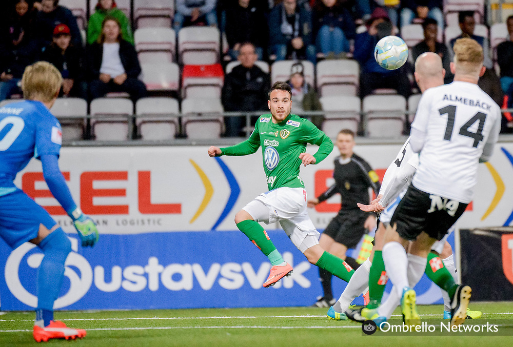 ÖREBRO, SWEDEN - APRIL 11: Dzenis Konica of Jönköpings Södra during the allsvenskan match between Örebro SK & Jonkoping Sodra at Behrn Arena on April 11, 2016 in Örebro, Sweden. Foto: Pavel Koubek/Ombrello
