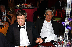 Left to right, ZAC GOLDSMITH and SIMON REUBEN at the party Belle Epoque hosted by The Royal Parks Foundation and Champagne Perrier Jouet held at the Lido Lawns of the Serpentine, Hyde Park, London on 14th September 2006.<br />