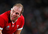 Rugby Union - 2019 Rugby World Cup - Bronze Final (Third Place Play-Off): Wales vs. France<br /> <br /> Alun Wyn Jones of Wales at Tokyo Stadium, Tokyo.<br /> <br /> COLORSPORT/LYNNE CAMERON