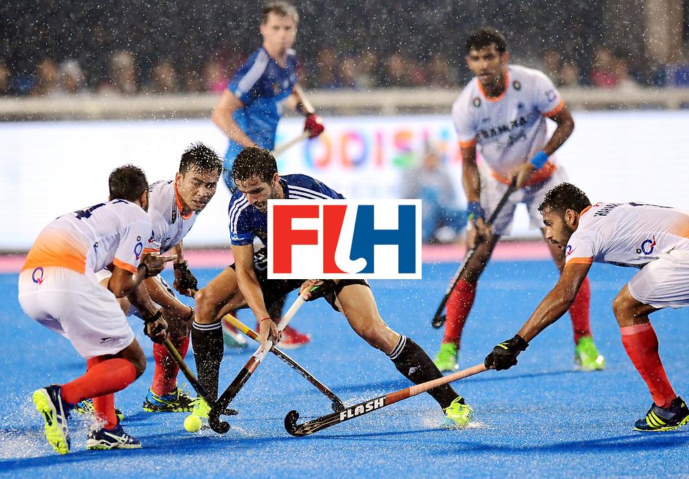 Odisha Men's Hockey World League Final Bhubaneswar 2017<br /> Match id:19<br /> India v Argentina<br /> Foto: Agustin Bugallo (Arg) <br /> COPYRIGHT WORLDSPORTPICS FRANK UIJLENBROEK