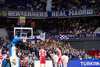 Real Madrid and Crvena Zvezda Telekom during Euroligue Basketball at Barclaycard Center in Madrid, October 22, 2015<br /> Berserkers Real Madrid.<br /> (ALTERPHOTOS/BorjaB.Hojas)