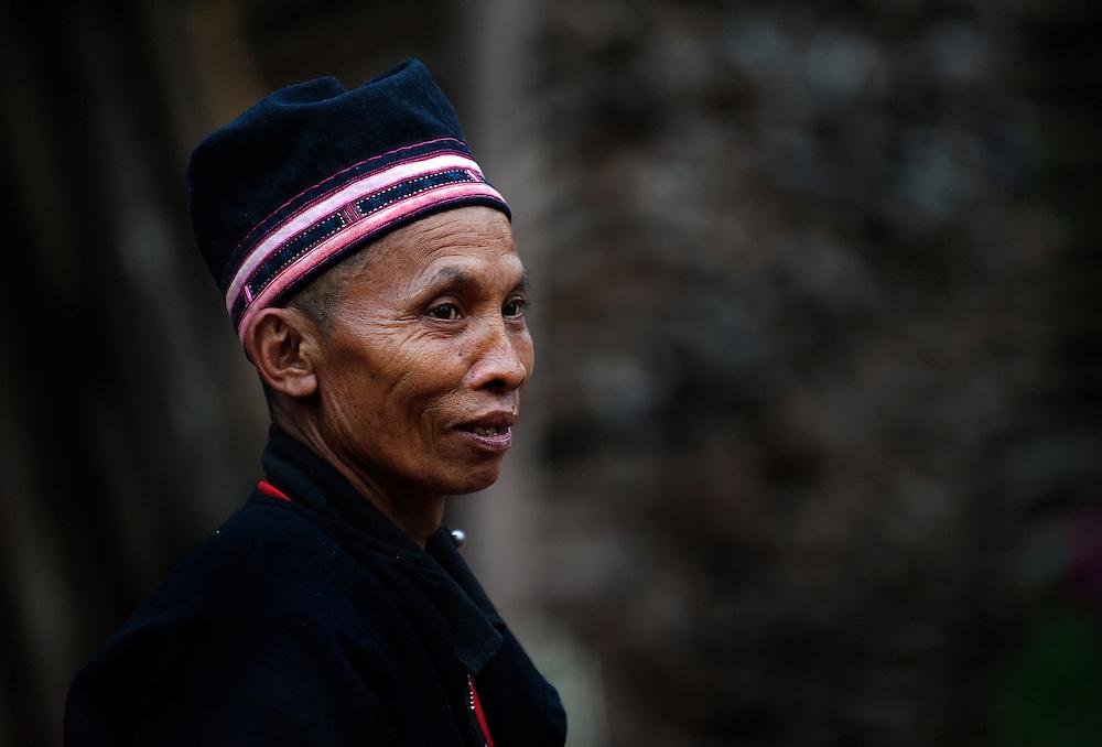 A Lanten man in Luang Namtha, Laos.