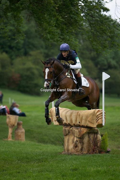 Equi-Trek Bramham International Horse Trials 2012  CIC3*<br /> Constantin van Rijckevorsell and Butterfly Boy (BEL)