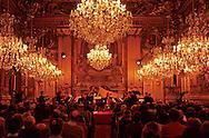 France. Lyon . Concert in the salons of the city hall       Concert dans les salons de l hôtel de ville      R00063 26    L931120a     P0000258