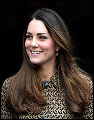 NOV 19 2013 Duke and Duchess of Cambridge at crime prevention charity