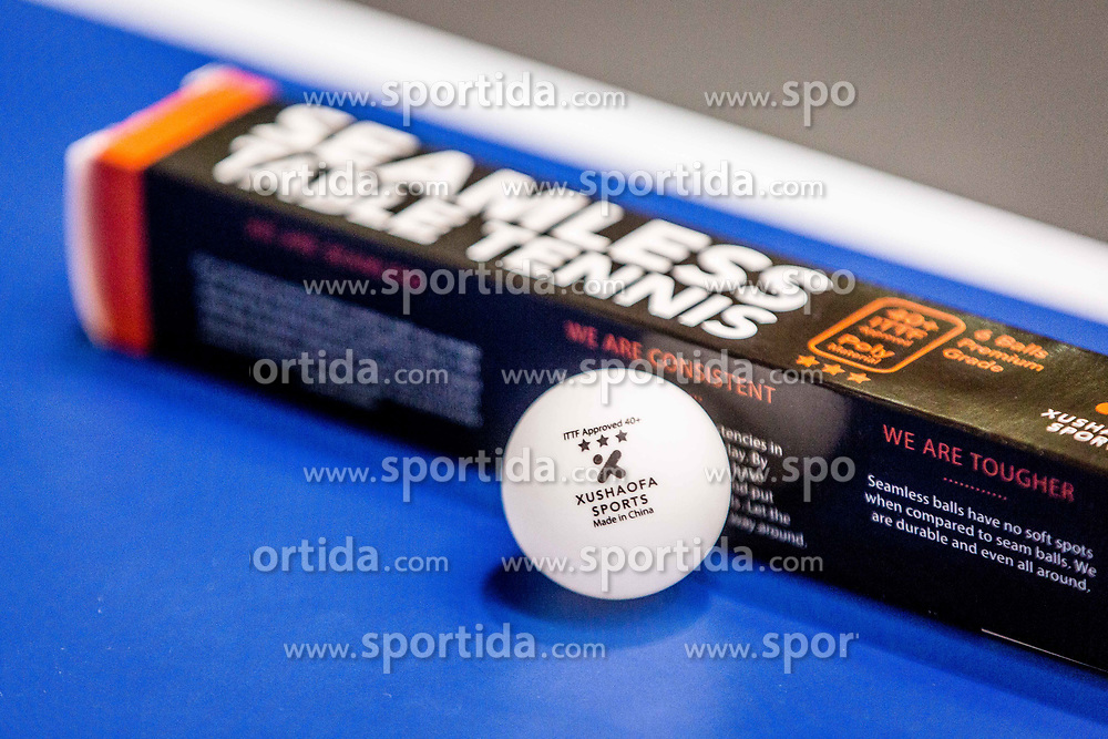 SEAMLESS TABLE TENNIS BALLS during day 4 of 15th EPINT tournament - European Table Tennis Championships for the Disabled 2017, at Arena Tri Lilije, Lasko, Slovenia, on October 1, 2017. Photo by Ziga Zupan / Sportida