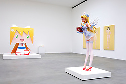 © licensed to London News Pictures. LOCATION:Gagosian.Gallery, 6-24 Britannia Street, London Postcode WC1X 9JD..27_06_11.Exhibition of recent work by renowned Japanese  artist Takashi Murakami. ..Pictured: Please see special instructions for usage rates. Photo credit should read: Tim Roberts/LNP