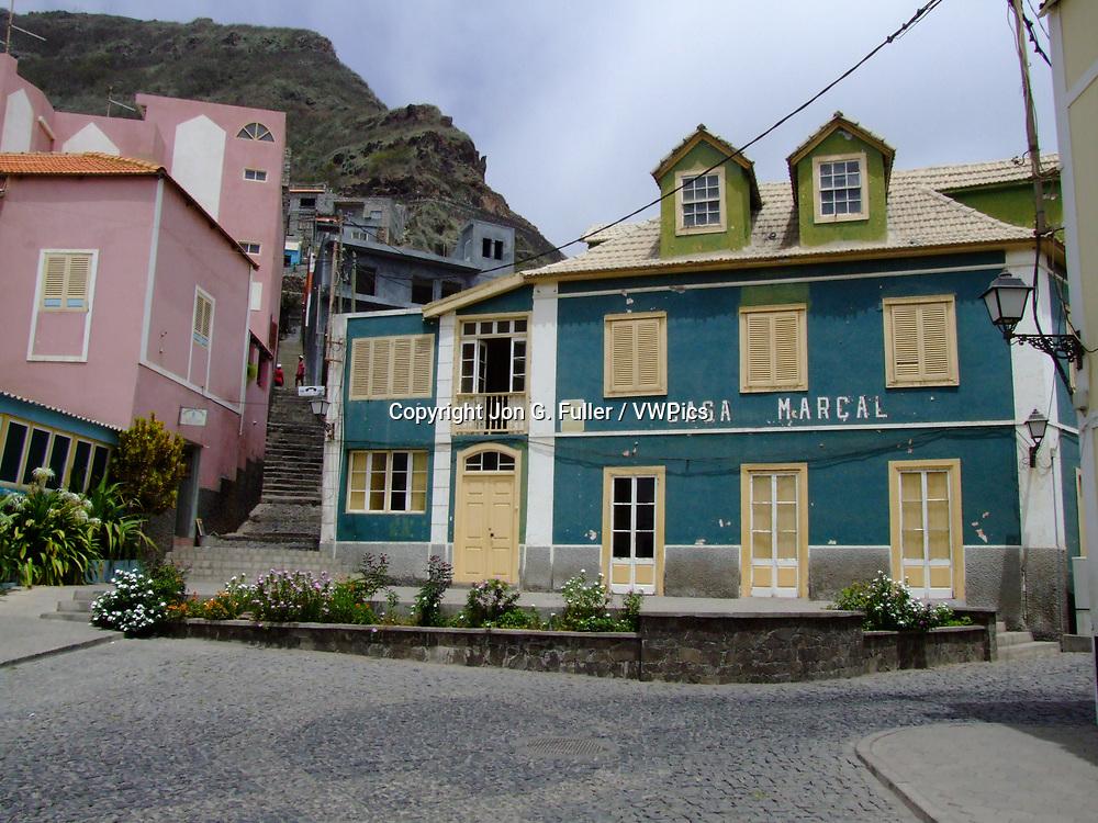 Casa Marcal, an hotel in Ribeira Grande, Santo Antao, Republic of Cabo Verde, Africa.