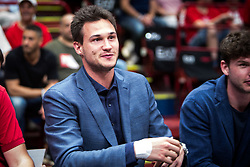 May 26, 2018 - Milan, Milan, Italy - Danilo Gallinari before a basketball game of Poste Mobile Playoff Lega Basket A between  EA7 Emporio Armani Milano vs Germani Basket Brescia at Mediolanum Forum, in Milan, Italy, on 26 May 2018. (Credit Image: © Roberto Finizio/NurPhoto via ZUMA Press)