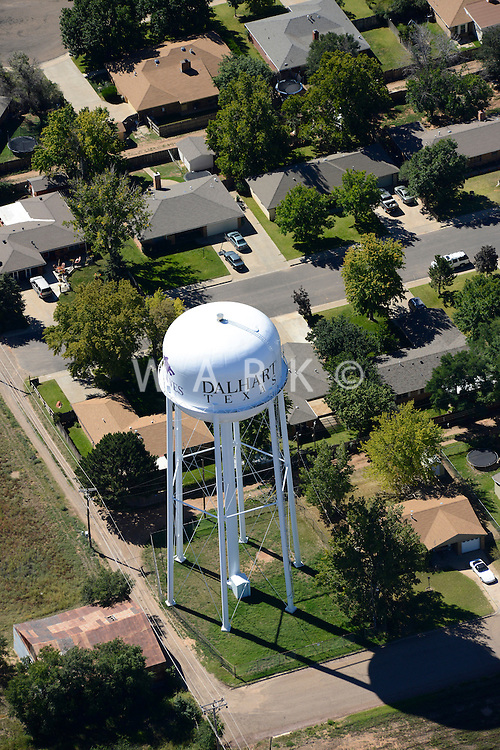 Dalhart, Texas. Water tower. Sept 2013. 84052