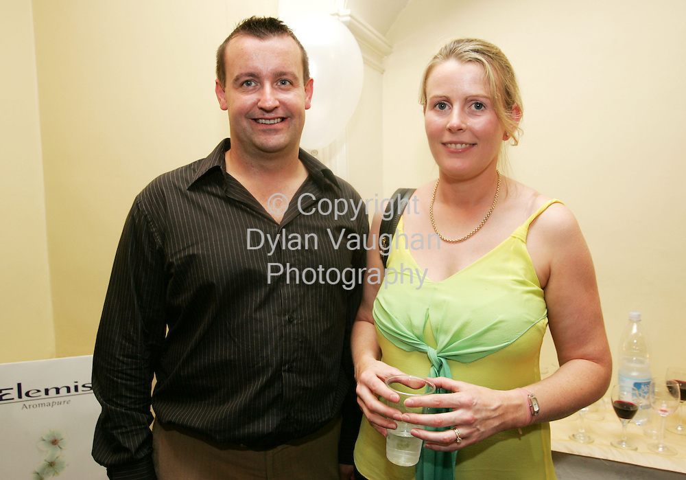 5/9/2005.Pictured at The Institute of Beauty and Complementary Therapies' graduation ceremony was John Duffy Kilkenny and Miriam Daly Waterford..Picture Dylan Vaughan