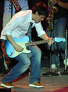 "ATLANTIC CITY, NJ - JUNE 27: John Mayer performs onstage during the Maxim Magazine Presents ""Fantasy Island"" at the Borgata Hotel Casino and Spa June 27, 2004 in Atlantic City, New Jersey. The event consisted of two music stages and four unique themed areas, providing a wide array of entertainment for guests; South Beach Venice Beach, Stuffland, and The Oasis. (Photo by William Thomas Cain/Getty Images)"