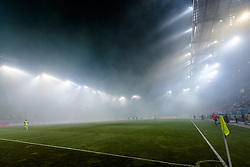01.06.2017, Woerthersee Stadion, Klagenfurt, AUT, OeFB Samsung Cup, SK Rapid Wien vs FC Red Bull Salzburg, Finale, im Bild Nebel im Stadion // during the Final Match of the Austrian Samsung Cup between SK Rapid Wien and FC Red Bull Salzburg at the Woerthersee Stadion in Klagenfurt, Austria on 2017/06/01. EXPA Pictures © 2017, PhotoCredit: EXPA/ Johann Groder