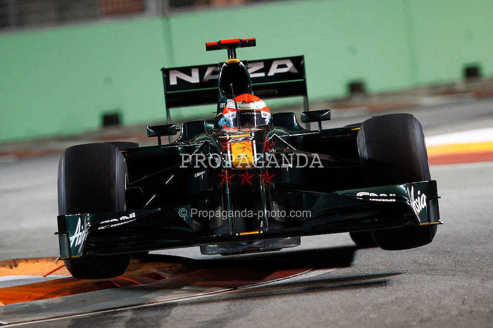 Motorsports / Formula 1: World Championship 2010, GP of Singapore, 18 Jarno Trulli (ITA, Lotus F1 Racing),