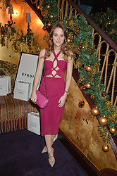 ROSIE FORTESCUE at the UK launch of WhoWhatWear UK held at Loulou's, Hertford Street, London on 24th November 2015.