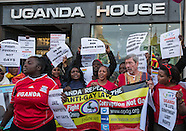 19 Mar. 2014 - Protest against Uganda's anti-gay laws.