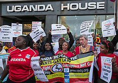 19 Mar. 2014 - Protest against Uganda's anti-gay laws.