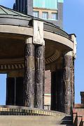 Rundtempel und Hochzeitsturm, Mathildenhöhe, Jugendstil, Darmstadt, Hessen, Deutschland | Centre of Art Noveau on Mathildenhoehe, Darmstadt, Germany