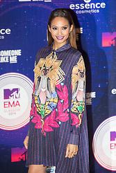 Alesha Dixon.<br /> Red carpet at the MTV EMA, Glasgow.