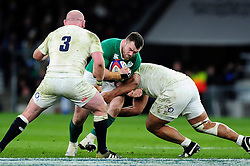 Cian Healy of Ireland takes on the England defence - Mandatory byline: Patrick Khachfe/JMP - 07966 386802 - 27/02/2016 - RUGBY UNION - Twickenham Stadium - London, England - England v Ireland - RBS Six Nations.