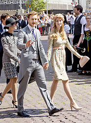 July 8, 2017 - Hanover, GERMANY - 08-07-2017 Wedding of Prince Ernst August of Hanover and Ekaterina 'Katya' Malysheva at the Marktkirche (church) in Hanover, Pierre Casiraghi and Beatrice Borromeo and Charlotte Casiraghi.© PPE/Nieboer.Credit: PPE/face to face.- No Rights for Netherlands  (Credit Image: © face to face via ZUMA Press)