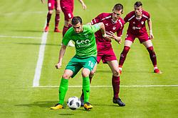 Miljan Skrbic of NK Krsko during football match between NK Triglav Kranj and NK Krskoi in Round #29 of Prva Liga Telekom Slovenije 2017/18, on May 2, 2018 in Sports park Kranj, Kranj, Slovenia. Photo by Ziga Zupan / Sportida
