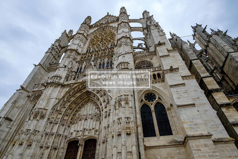 Facade of St Peter's Cathedral (La Cathédrale Saint-Pierre), Beauvais, France<br /> <br /> (c) Andrew Wilson | Edinburgh Elite media