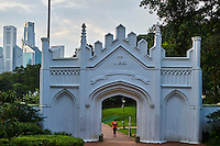 Singapour, Colonial District, parc e Fort Canning // Singapore, Colonial District, Fort Canning Park