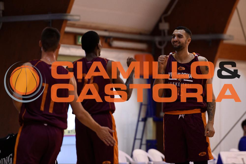 Aristide Landi<br /> Virtus Roma - Cuore Napoli Basket<br /> LNP - Amichevole<br /> Roma, 24/09/2017<br /> Foto G.Masi / Ciamillo - Castoria