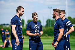 George Van Klaveren looks on during week 1 of Bristol Bears pre-season training ahead of the 19/20 Gallagher Premiership season - Rogan/JMP - 03/07/2019 - RUGBY UNION - Clifton Rugby Club - Bristol, England.