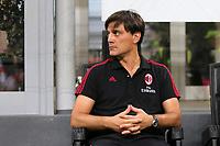 Vincenzo Montella allenatore del Milan