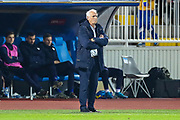 Kosovo Head Coach Bernard Challandes during the UEFA European 2020 Qualifier match between Kosovo and England at the Fadil Vokrri Stadium, Pristina, Kosovo on 17 November 2019.