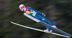 14.12.2013, Nordische Arena, Ramsau, AUT, FIS Nordische Kombination Weltcup, Skisprung, Wettkampfdurchgang, im Bild Akito Watabe (JPN) // Akito Watabe (JPN) during Ski Jumping of FIS Nordic Combined World Cup, at the Nordic Arena in Ramsau, Austria on 2013/12/14. EXPA Pictures © 2013, EXPA/ JFK