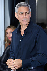 Hollywood star George Clooney was treated in hospital on Tuesday for minor injuries after a scooter accident in Sardinia, Italy on July 10, 2018 ------------ George Clooney attending the Suburbicon Photocall during the 74th Venice International Film Festival (Mostra di Venezia) at the Lido, Venice, Italy on September 02, 2017. Photo by Aurore Marechal/ABACAPRESS.COM