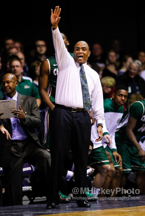 INDIANAPOLIS, IN - FEBRUARY 13: Head coach Alan Major of the Charlotte 49ers seen during the game against the Butler Bulldogs at Hinkle Fieldhouse on February 13, 2013 in Indianapolis, Indiana. Charlotte defeated Butler 71-67. (Photo by Michael Hickey/Getty Images) *** Local Caption *** Alan Major