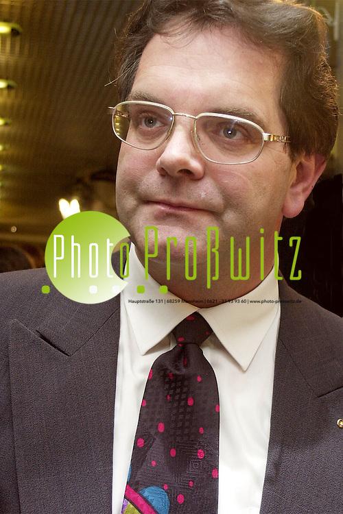 Mannheim. Klaus Dieter Reichardt. MDL<br />Bild: Pro&szlig;witz