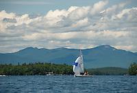 Summer day on Lake Winnipesaukee.  ©2015 Karen Bobotas Photographer