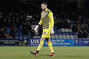Wycombe Wanderers goalkeeper Stephen Henderson (28), Sky Bet, during the EFL Sky Bet League 1 match between Gillingham and Wycombe Wanderers at the MEMS Priestfield Stadium, Gillingham, England on 15 December 2018.
